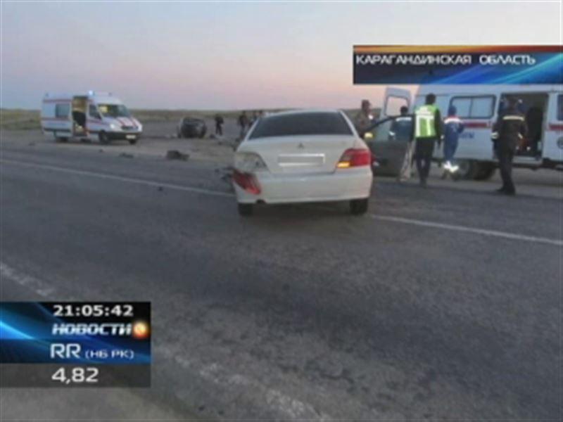 Кровавое ДТП в Карагандинской области: погибли 5 человек