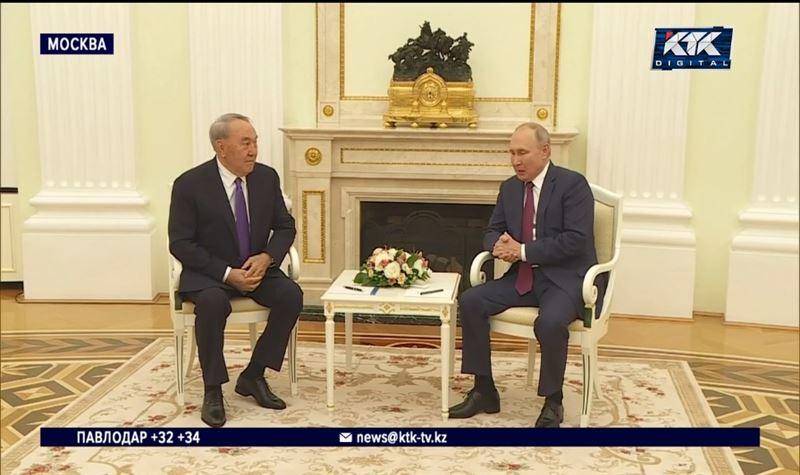 «Я теперь человек свободный» – Назарбаев встретился с Путиным