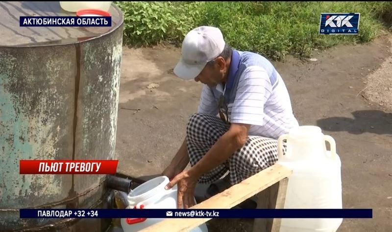 Две недели сидят без воды жители села на западе страны