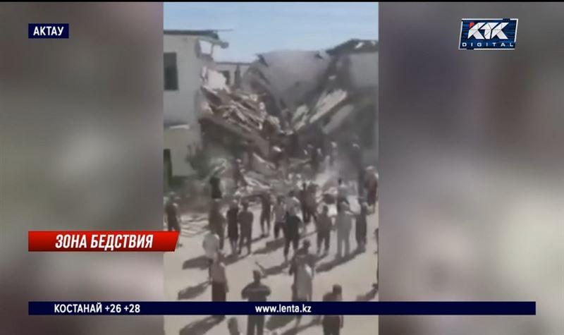 Трое заключенных погибли при обрушении общежития в колонии Актау