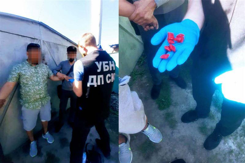 «Синтетику» в особо крупном размере изъяли у закладчика полицейские СКО