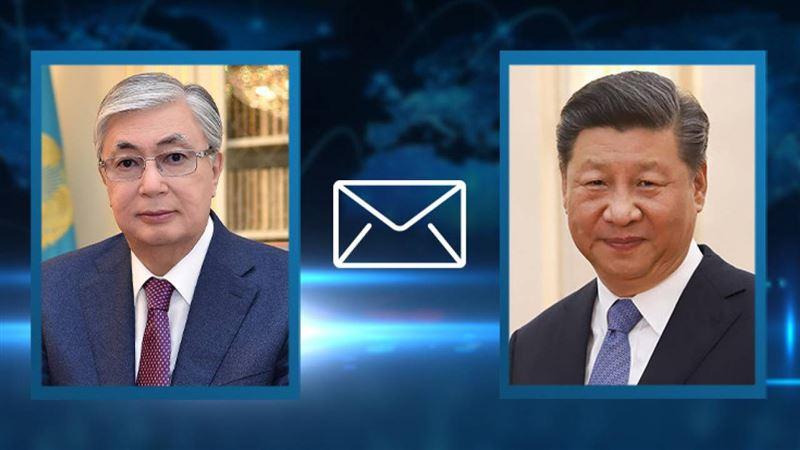 Токаев выразил соболезнования председателю КНР Си Цзиньпину
