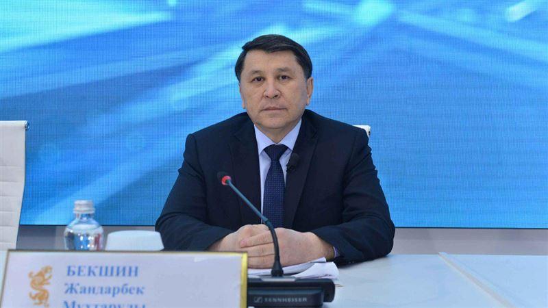 Жандарбек Бекшин рассказал об эпидемиологической ситуации в Алматы