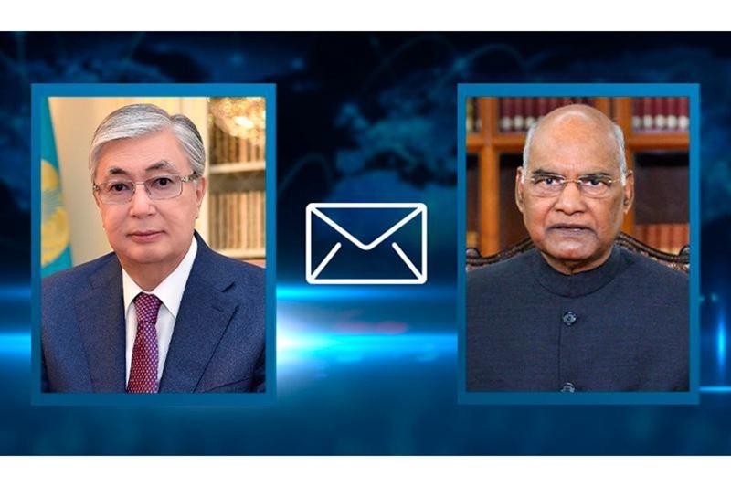 Токаев направил телеграмму с соболезнованиями президенту Индии