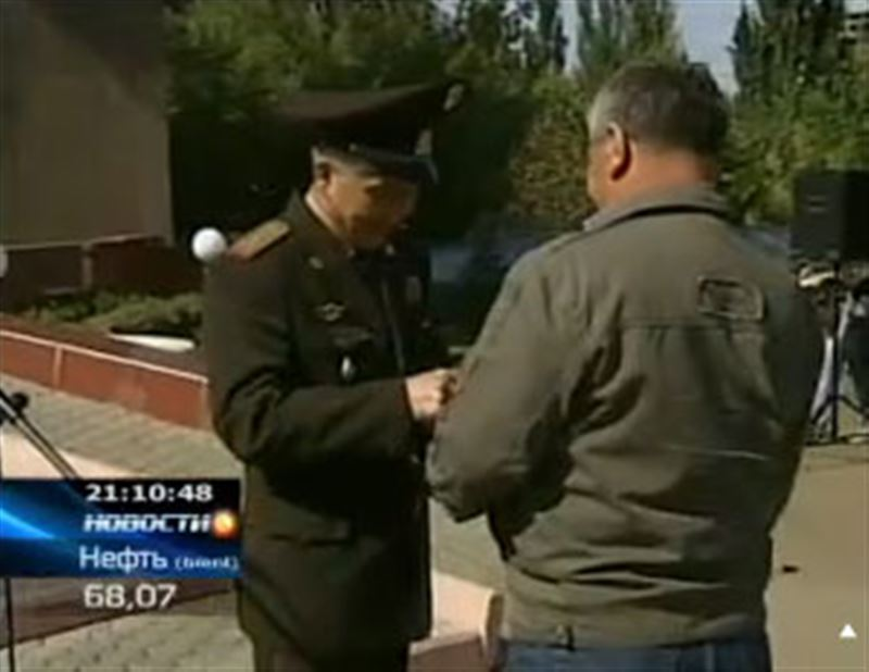 В многодневку по городам Казахстана впервые пустилась группа ветеранов-афганцев