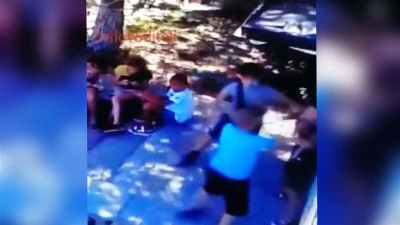 ВИДЕО (18+): Смертельная драка детей попала на видео в Темиртау