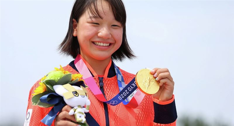 13 жасар қыз Токио Олимпиадасында алтын медаль алды