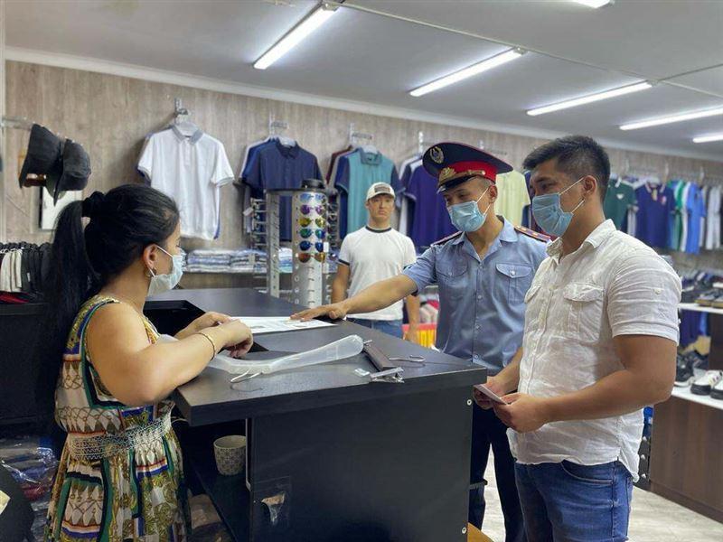 В Шымкенте могут наказать за товары с изображением наркотиков