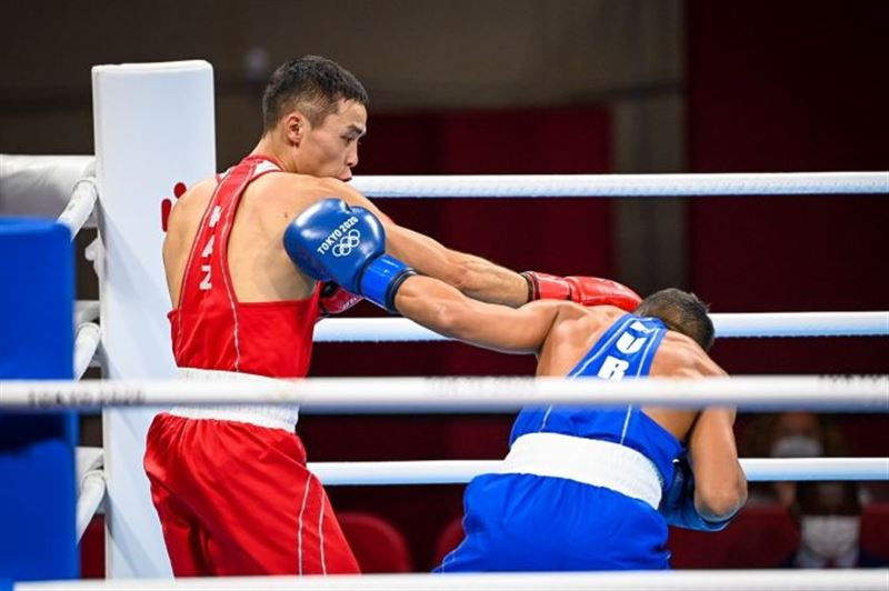 Казахстанский боксер оказался в 1/8 финала Олимпийских игр