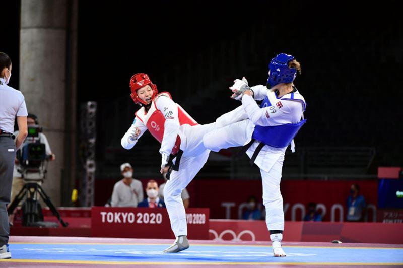 Казахстанская таэквондистка стартовала с победы на Олимпиаде в Токио