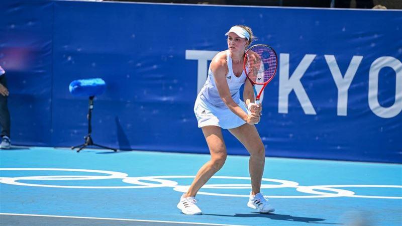 Елена Рыбакина победила в 1/8 финала Олимпиады в Токио