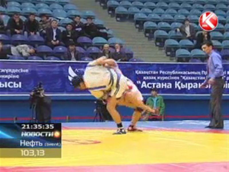 Перед финалом «Казахстан Барысы» борцов посадили на специальную диету
