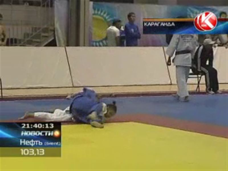 В Караганде прошел чемпионат страны среди молодежи