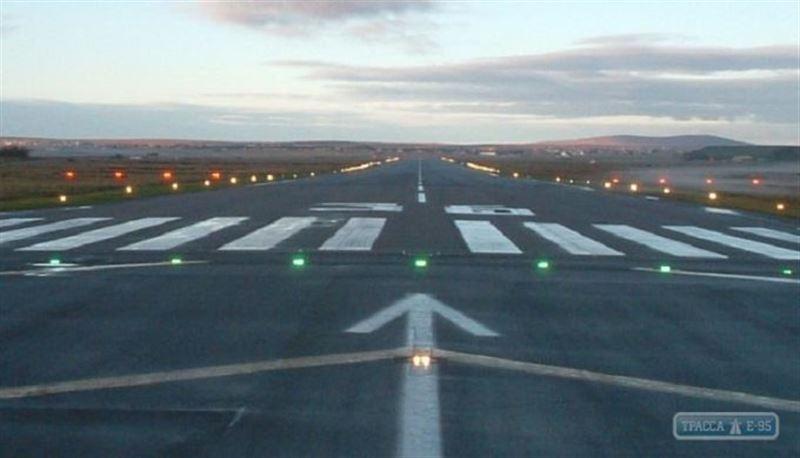 В аэропорту Семея похитили входные огни