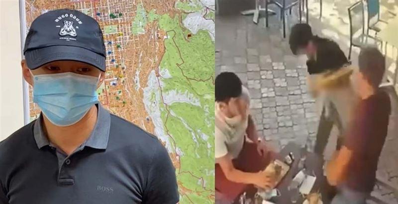 Алматыдағы мейрамханада даяшыны ұрған азамат ұсталды