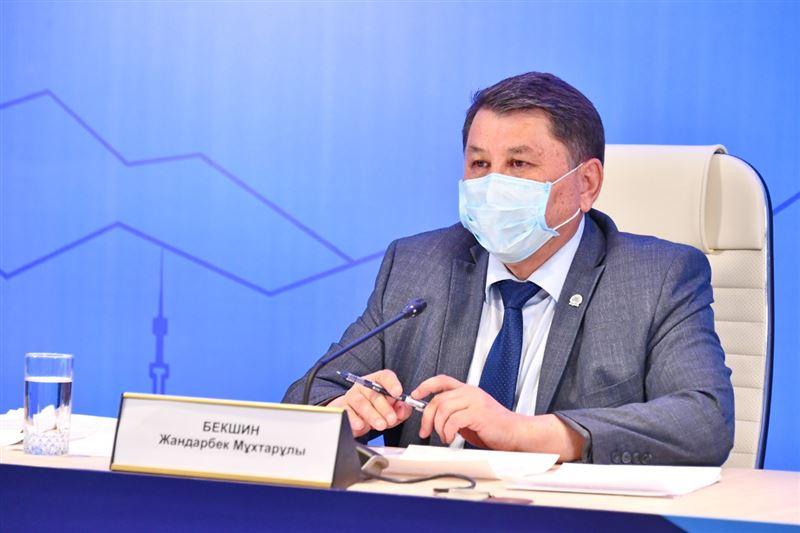 Онлайн-пресс-конференция об осложнении эпидемиологической ситуации в Алматы