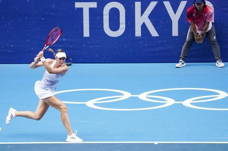 Елена Рыбакина Олимпиаданың жартылай финалында жеңіліп қалды