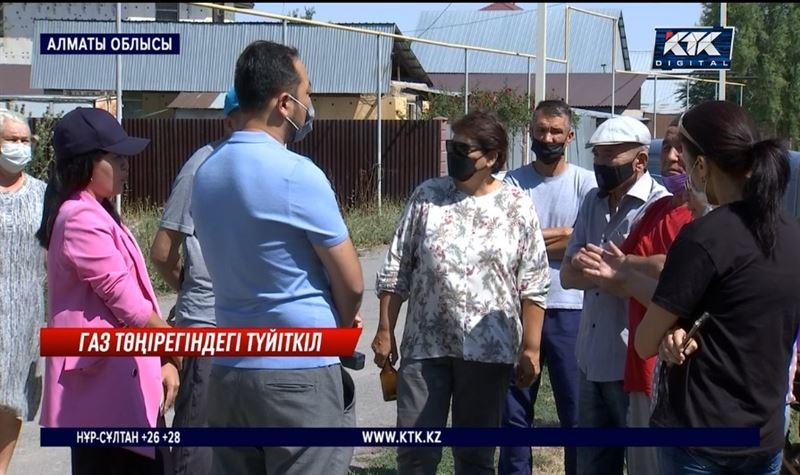 Алматы облысы Кіші Байсеркеде газға қатысты дау туды