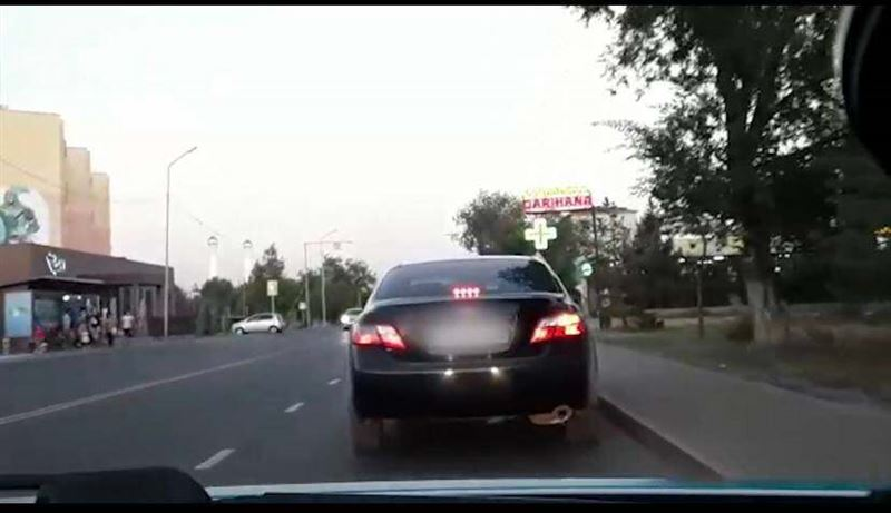 Мужчина управлял машиной, будучи под наркотиками, в Талдыкоргане