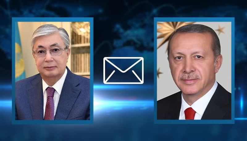 Тоқаев Түркия Президентіне көңіл айтты