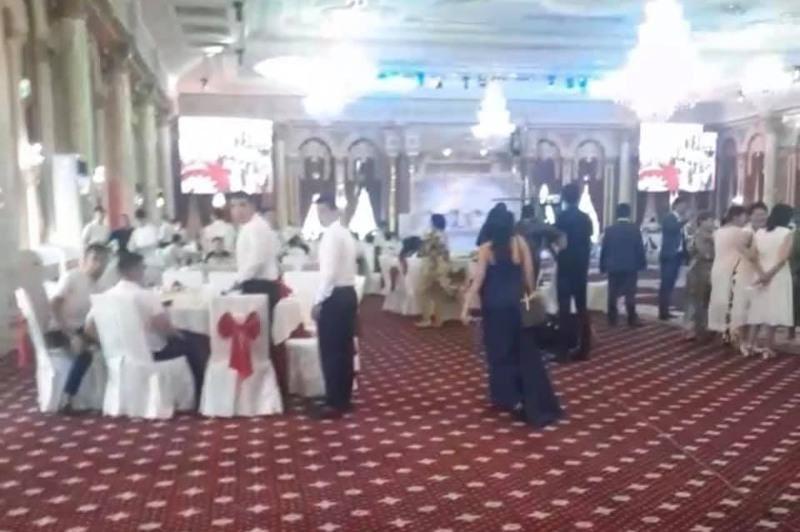 В Шымкенте остановили свадьбу почти на 200 человек