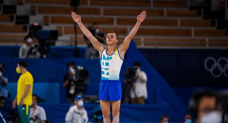 Казахстанский гимнаст занял пятое место на Олимпийских играх