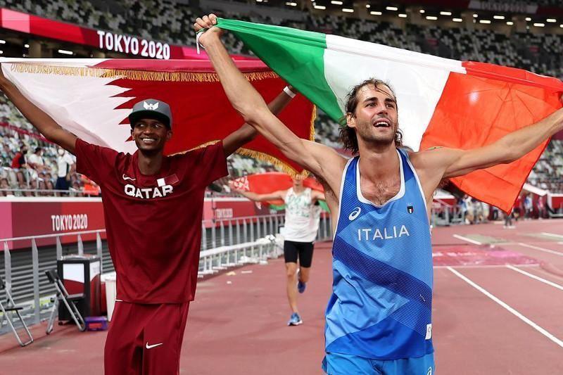 Легкоатлеты поделили золотую медаль на Олимпийских играх