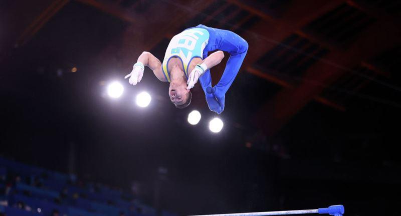 Гимнаст из Казахстана не смог завоевать медаль на Олимпиаде