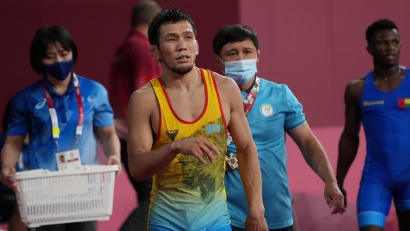 Токио-2020: Нұрислам Санаев жартылай финалға шықты