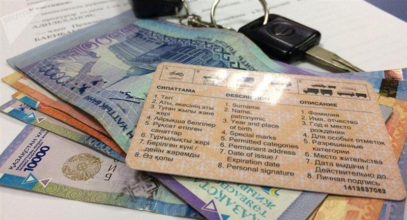 В Костанае задержан полицейский за продажу водительских удостоверений