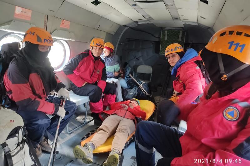 Российскую туристку эвакуировали вертолетом с Заилийского Алатау