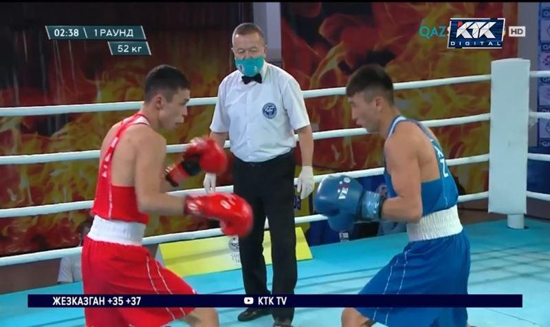 Казахстанский боксер завоевал бронзовую медаль в Токио