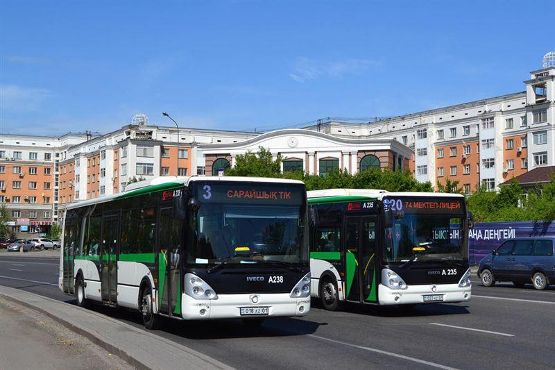 Общественный транспорт Нур-Султана не будет работать на выходных