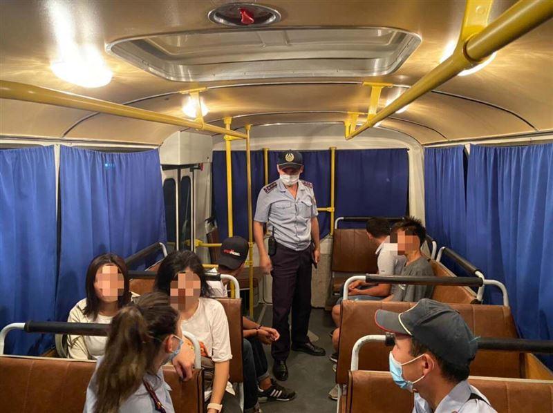 Более 70 подростков доставили в полицию Актюбинской области за сутки