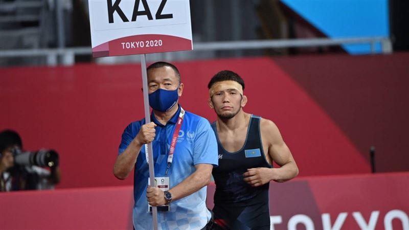 Борец из Казахстана выиграл шестую медаль Олимпиады в Токио