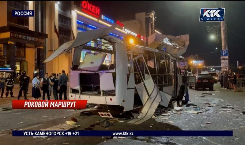 Очевидцы рассказали о взрыве автобуса в Воронеже