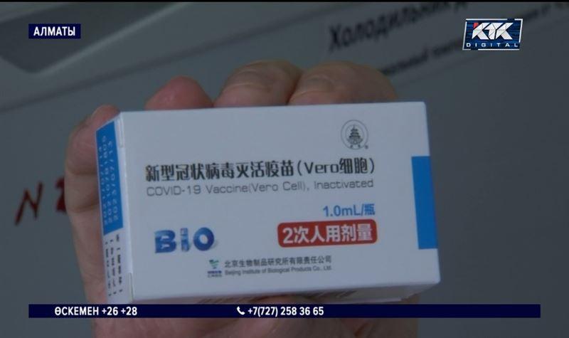Қазақстандықтар қытайлық Vero Сell вакцинасын салдыра бастады