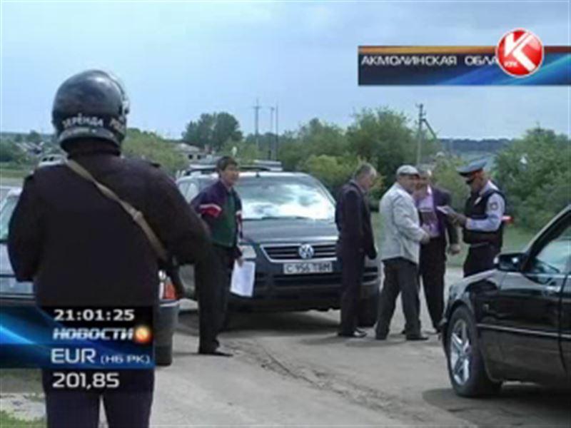 В акмолинском Атбасаре хулиганы атаковали районный КНБ
