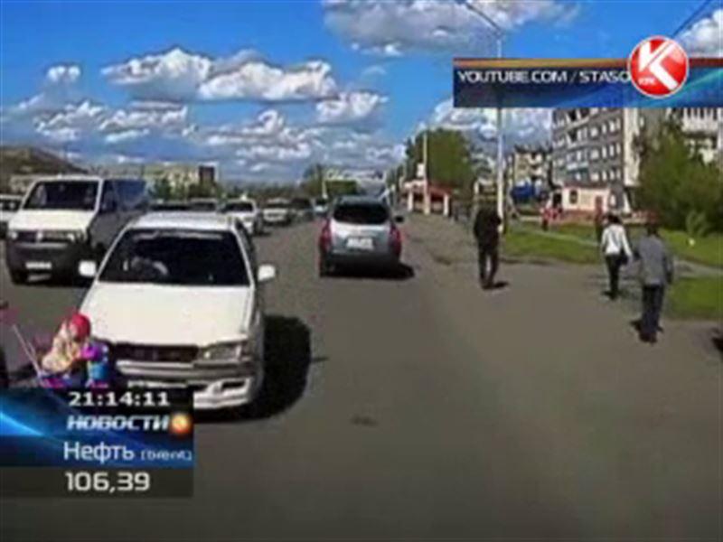 В Риддере водитель иномарки сбил двухлетнюю девочку
