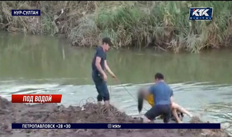 Девочка утонула на глазах у отца в Нур-Султане