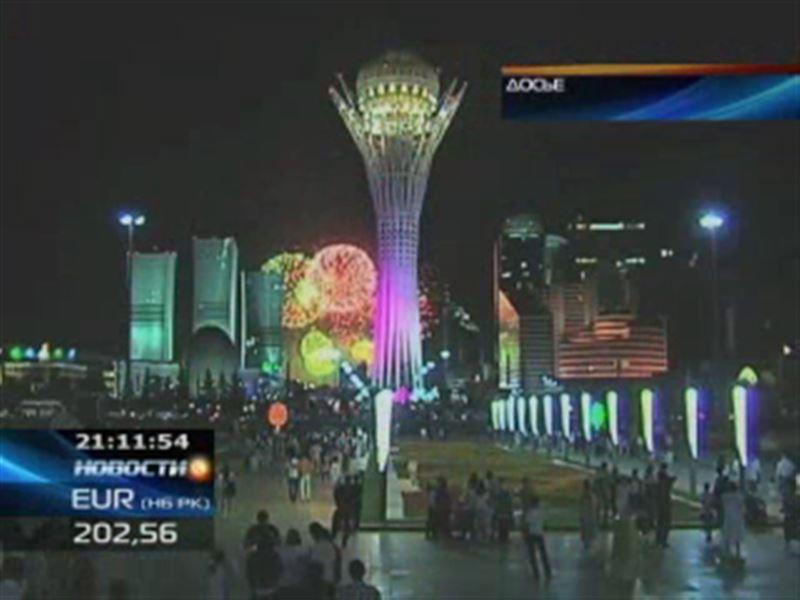 15-летие Астаны казахстанцы будут отмечать три дня