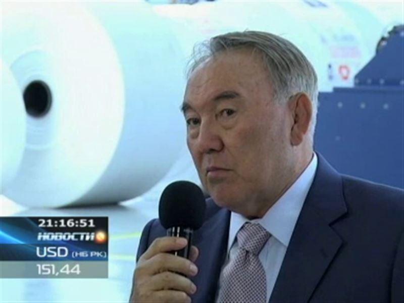 Нурсултан Назарбаев посетил с рабочим визитом Павлодарскую область