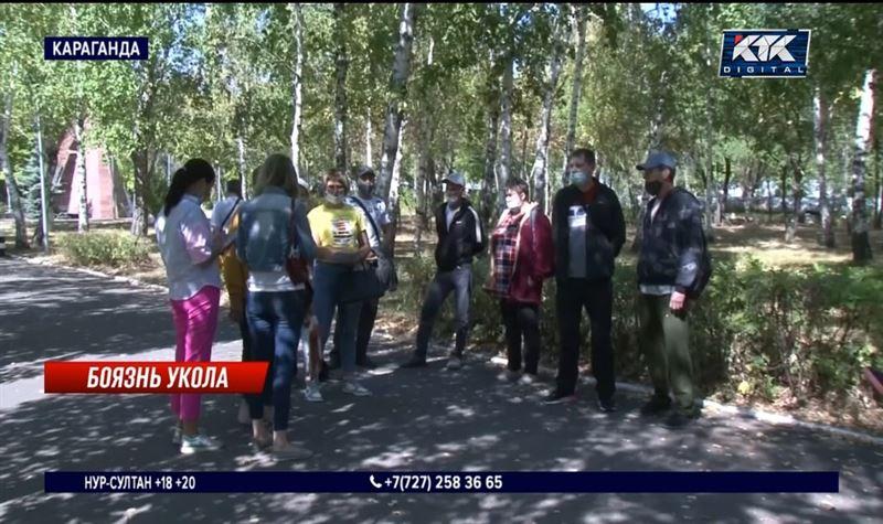 Темиртауских антиваксеров перестали пускать на работу