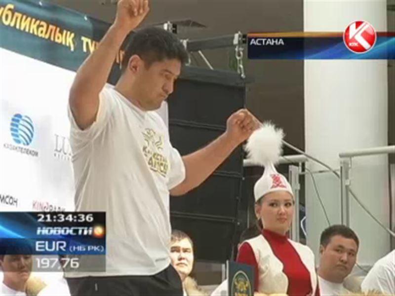 Участники «Казахстан Барысы» публично взвешивались