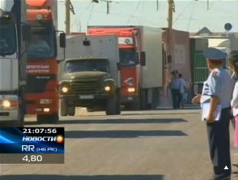 Автокараваны с овощами из южных регионов Казахстана в северные теперь будут сопровождать полицейские