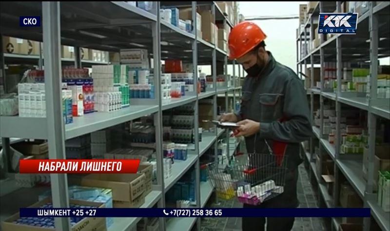 Чиновники СКО пытаются распродать лекарства от ковида
