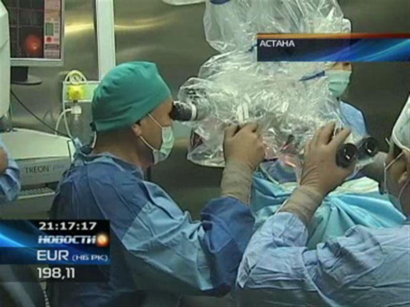 Республиканский центр нейрохирургии принял первых иностранных пациентов