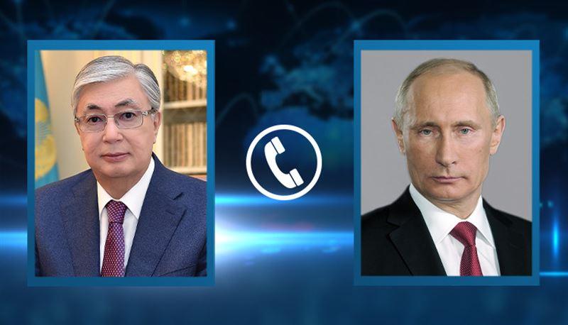 Афганский вопрос обсудили Токаев и Путин
