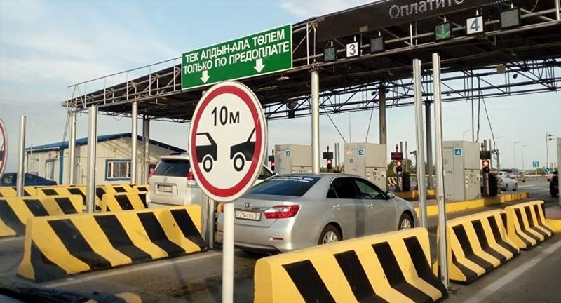 Еще семь автодорог станут платными в Казахстане с 1 ноября
