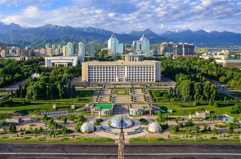 Алматинцы отмечают День города онлайн